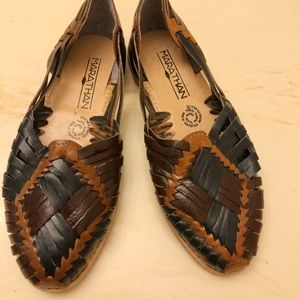 Shoes - Marathan mexican Huarache sandals size 7